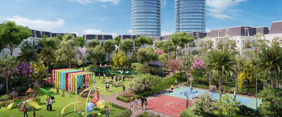 Cảnh quan tiện ích xung quanh khu đô thị dự án Seoul Eco Homes Hải Phòng